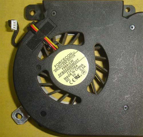 ACER DC280003B00 CPUファン