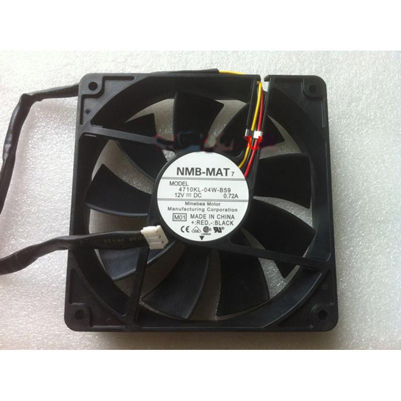 NMB-MAT 4710KL-04W-B59 CPUファン