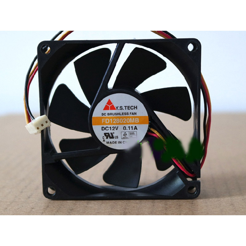 Y.S.TECH FD128020MB CPU Fan