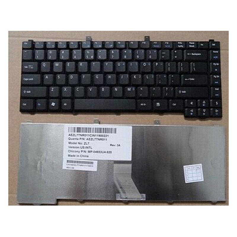 batterie ordinateur portable Laptop Keyboard ACER AEZL7TNR011