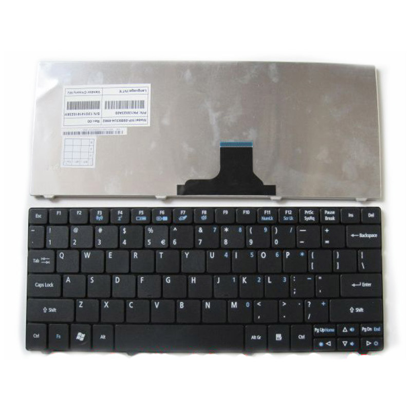 Laptop Keyboard for ACER Aspire One 753