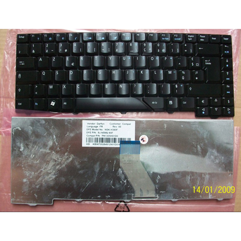 Laptop Keyboard for ACER Aspire 6252