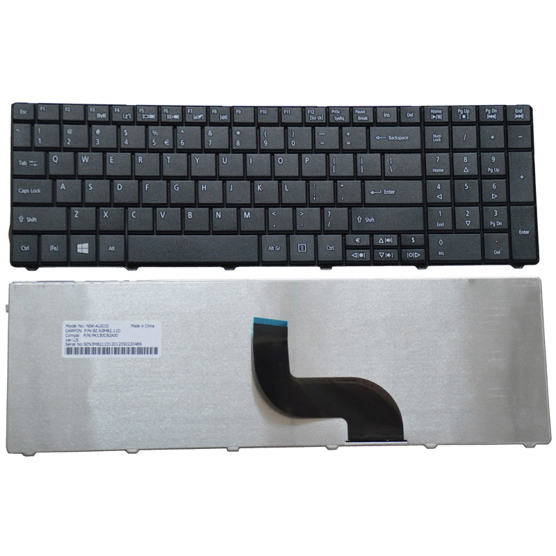 Laptop Keyboard for ACER TravelMate TMP453