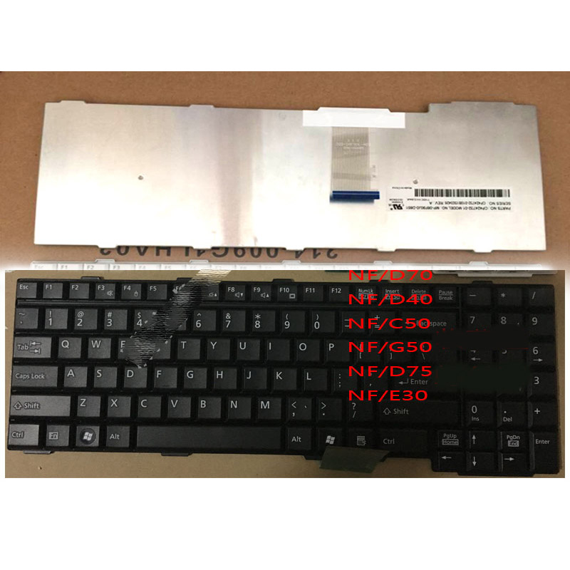 FUJITSU FMV-Biblo NF/D75対応PCキーボード