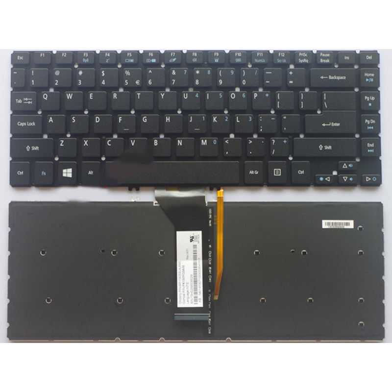 Laptop Keyboard for ACER Aspire E14 E5-472G Z8B