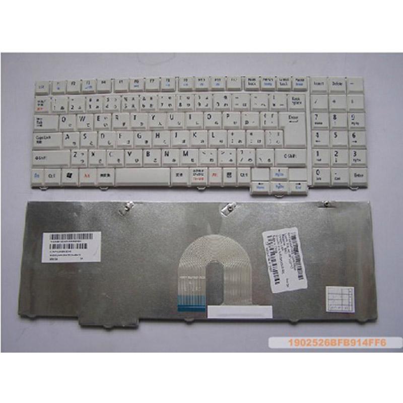Laptop Keyboard for NEC LaVie LL550/W