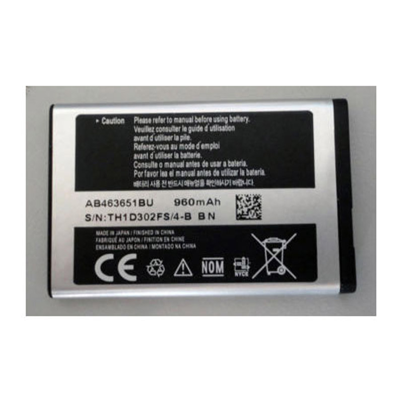 batterie ordinateur portable Mobile Phone Battery SAMSUNG AB463651BEC