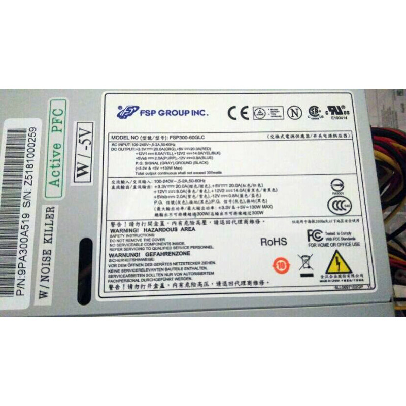 Power Supply for FSP FSP300-60PLN