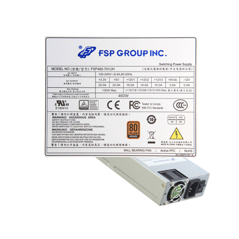 Power Supply for FSP FSP460-601U