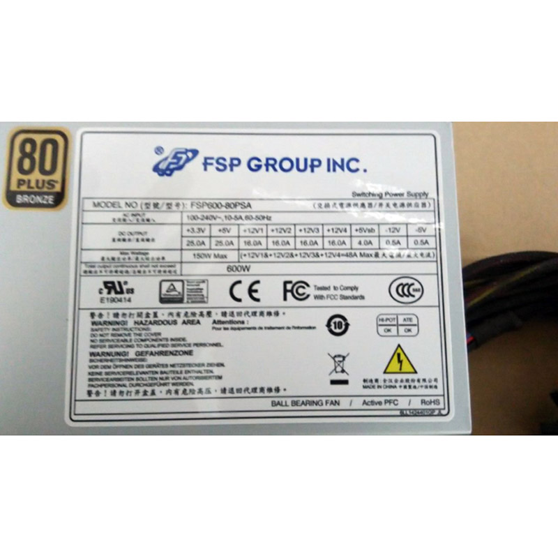 Power Supply for FSP FSP600-50HPN