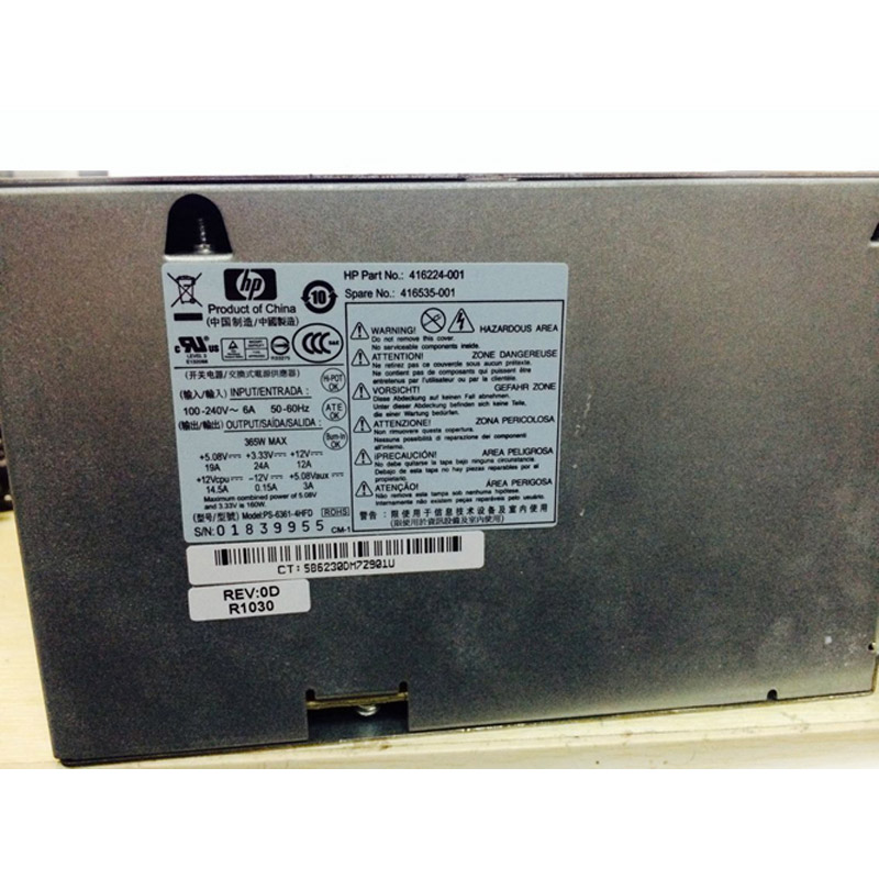 Power Supply for LITEON PS-6361-4HFD